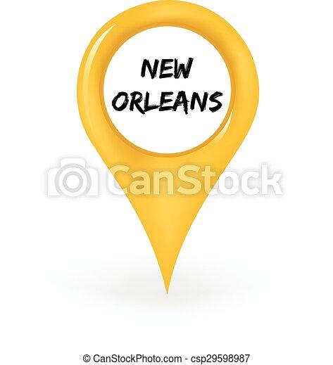 Location New Orleans - csp29598987