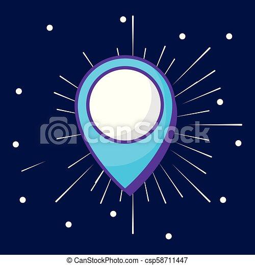 location pin icon - csp58711447