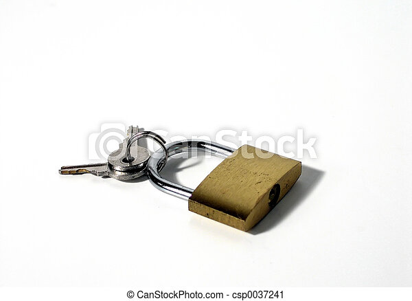 Lock and keys - csp0037241