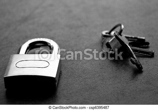 Lock and keys - csp6395487
