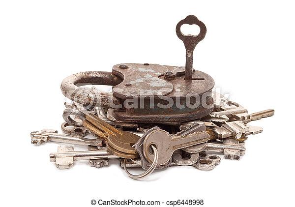 Lock and keys - csp6448998