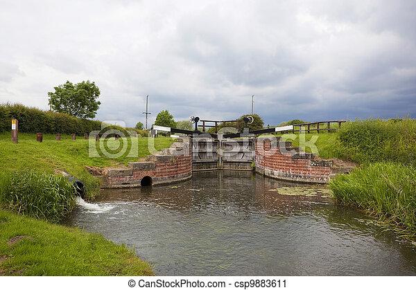 lock gates - csp9883611