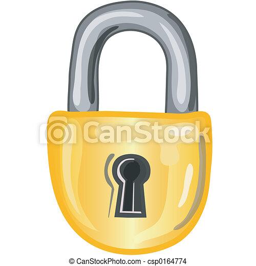 Lock icon - csp0164774