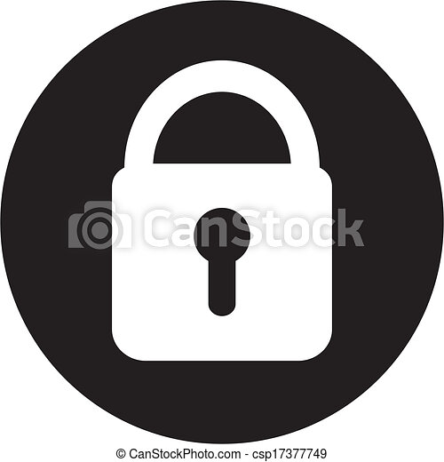 lock icon - csp17377749