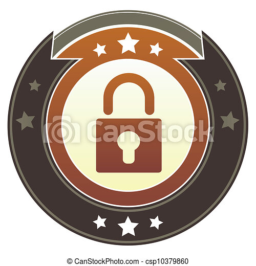 Lock imperial button - csp10379860