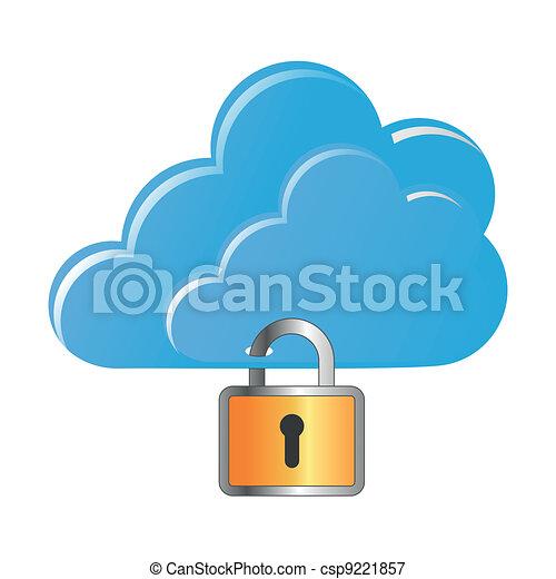Locked clouds - csp9221857