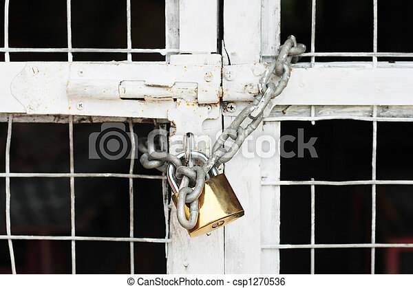Locked Gate - csp1270536