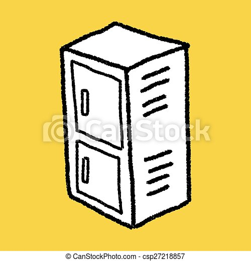 locker doodle clipart vector search illustration drawings and eps rh canstockphoto com lock clipart school locker clipart