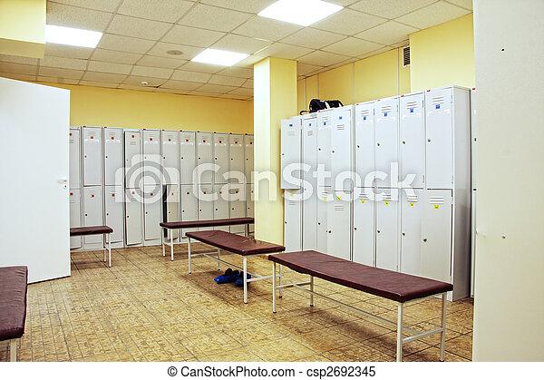 Locker room - csp2692345
