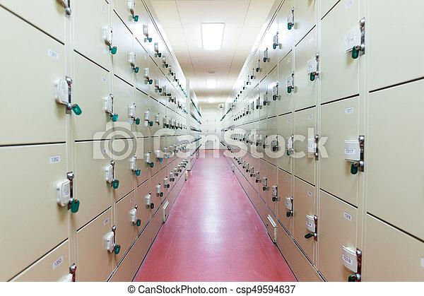 Locker Room - csp49594637