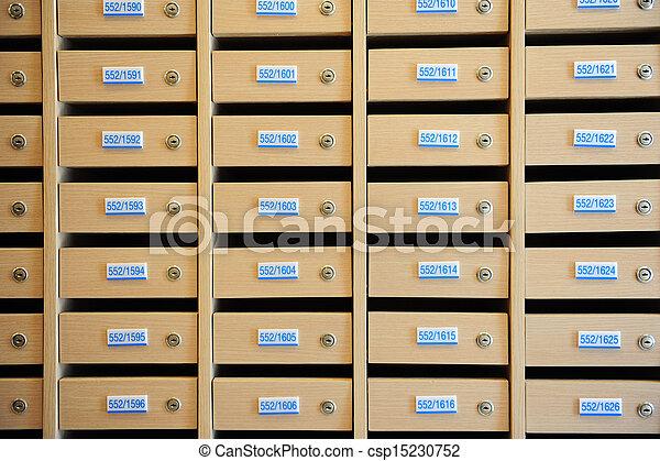 Locker Row - csp15230752