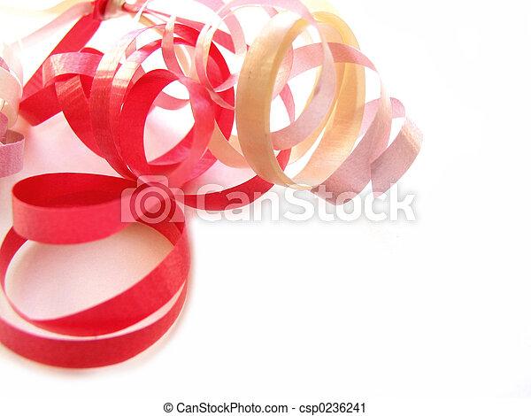 lockig, geschenkband - csp0236241