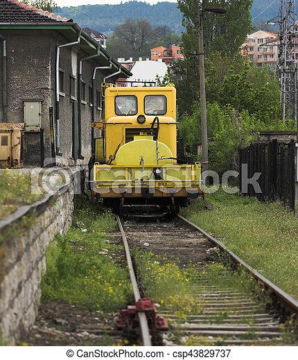 locomotief, noodgeval - csp43829737