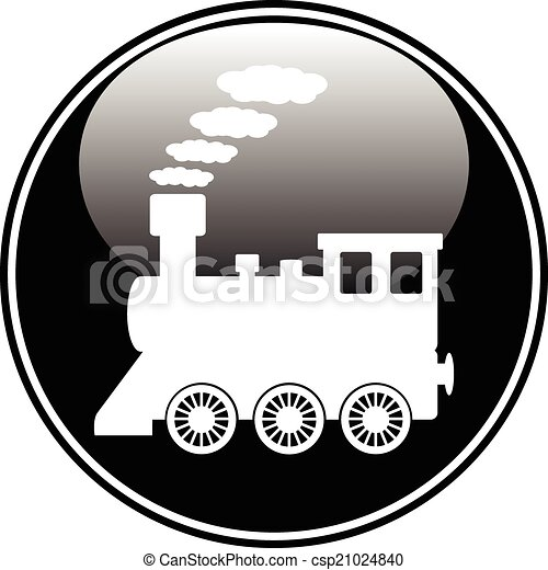 Locomotive button - csp21024840