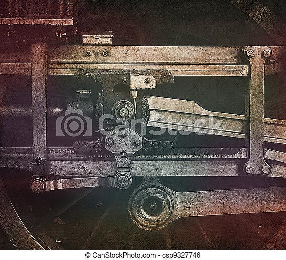 locomotive wheel drive - csp9327746