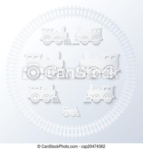 locomotives., 蒸気 - csp20474362