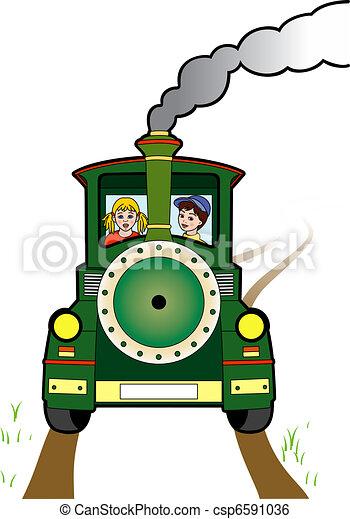 Locomotora - csp6591036