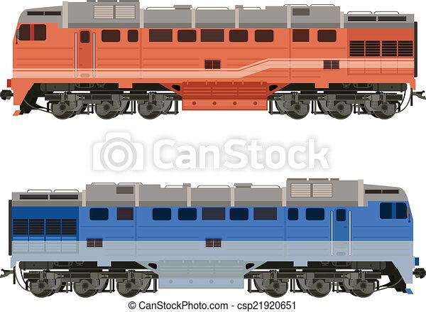 Locomotora - csp21920651
