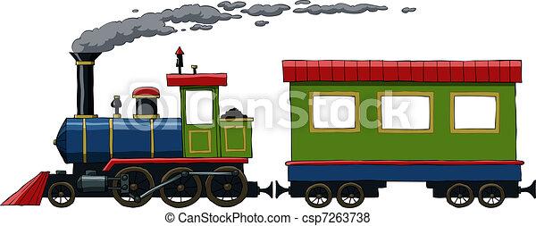 Locomotora - csp7263738
