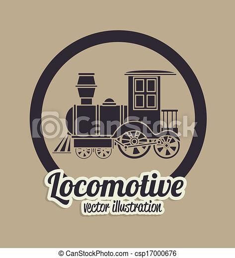 Locomotora - csp17000676