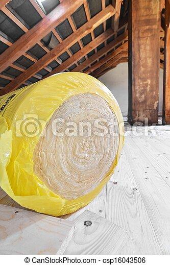 Loft Insulation - csp16043506