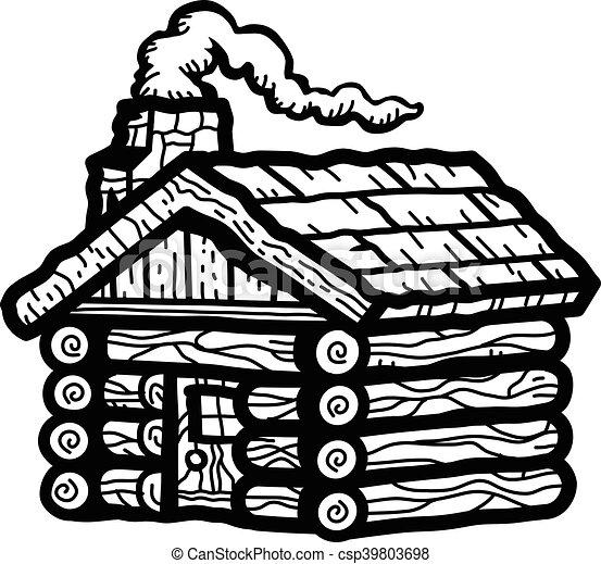 Log Cabin - csp39803698