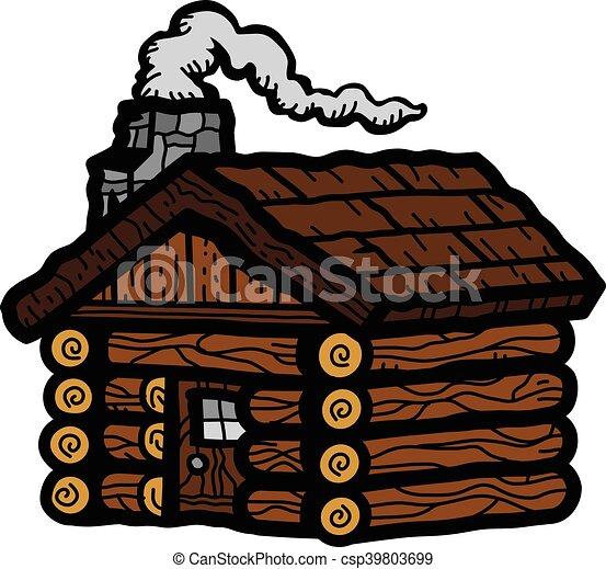 Log Cabin - csp39803699