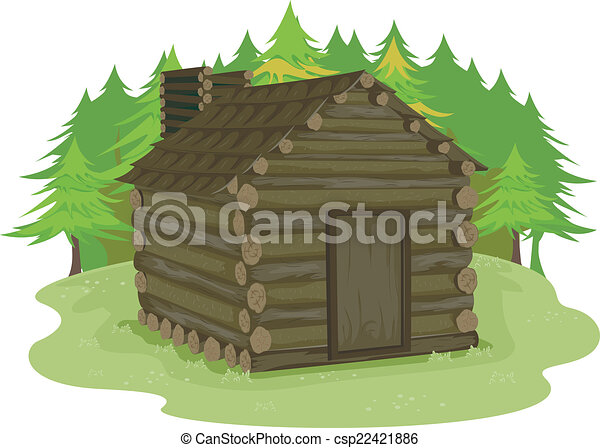 Log Cabin - csp22421886