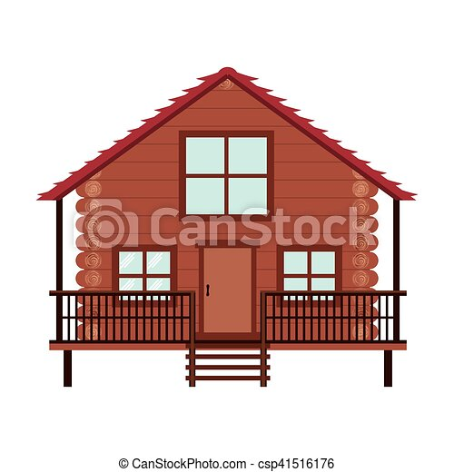 log cabin icon - csp41516176