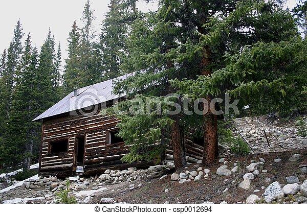 Log Cabin - csp0012694
