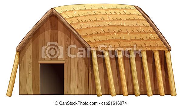 Log house - csp21616074