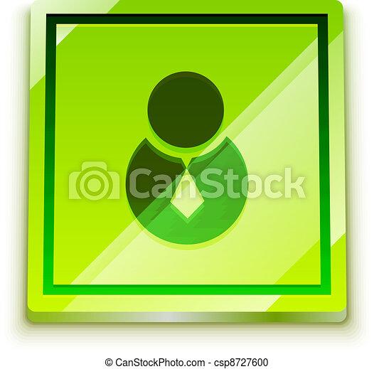 Login button - csp8727600
