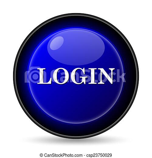 Login icon - csp23750029