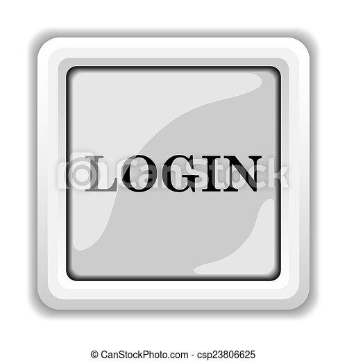 Login icon - csp23806625