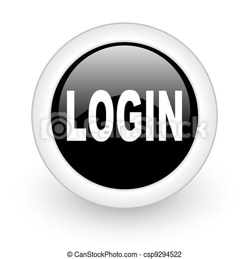 login icon - csp9294522