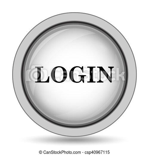 Login icon - csp40967115