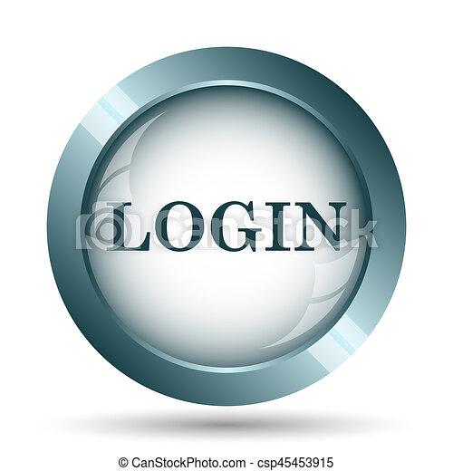 Login icon - csp45453915