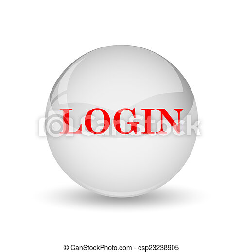 Login icon - csp23238905