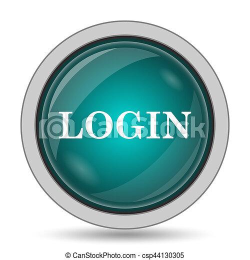 Login icon - csp44130305