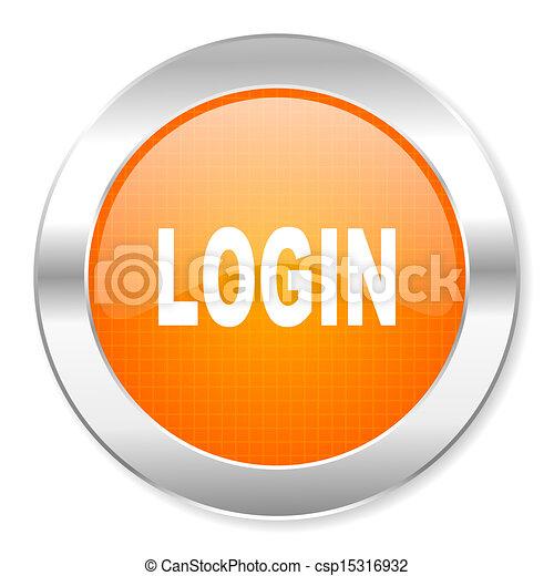 login icon - csp15316932