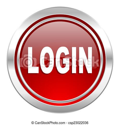 login icon - csp23022036