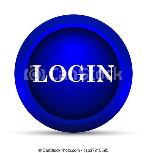 Login icon - csp37215595