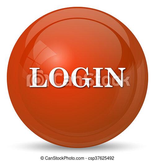 Login icon - csp37625492