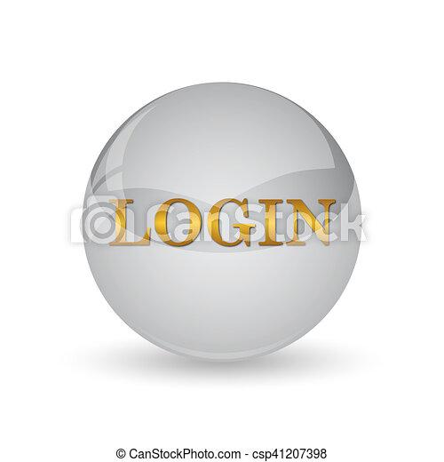 Login icon - csp41207398