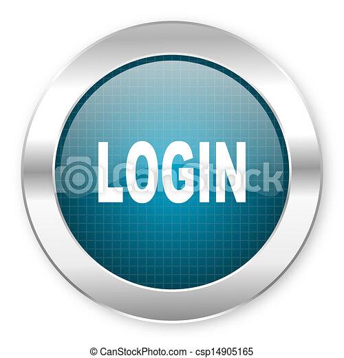 login icon - csp14905165