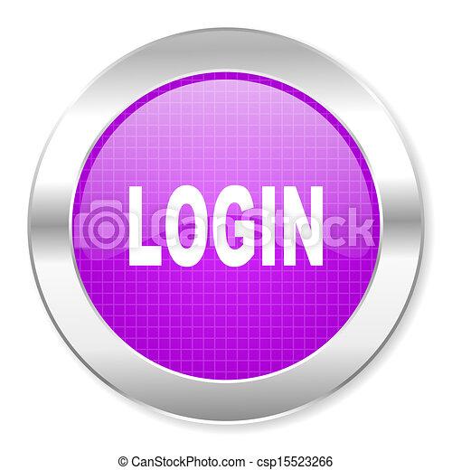login icon - csp15523266
