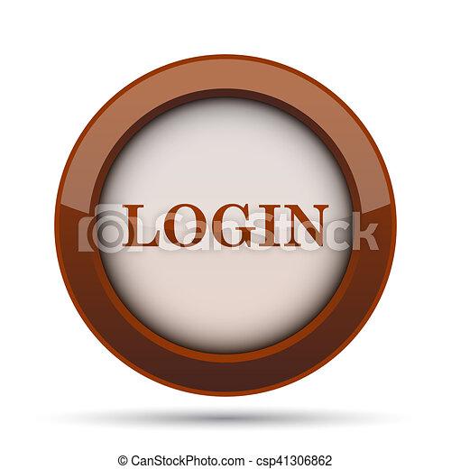 Login icon - csp41306862