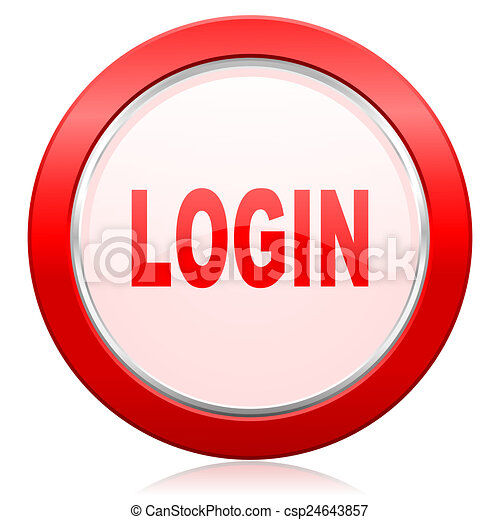 login icon - csp24643857