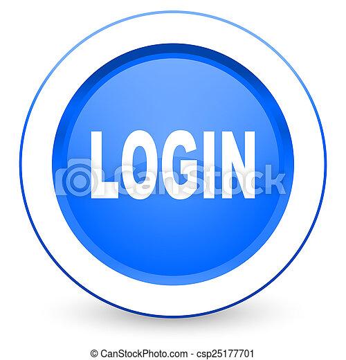 login icon - csp25177701