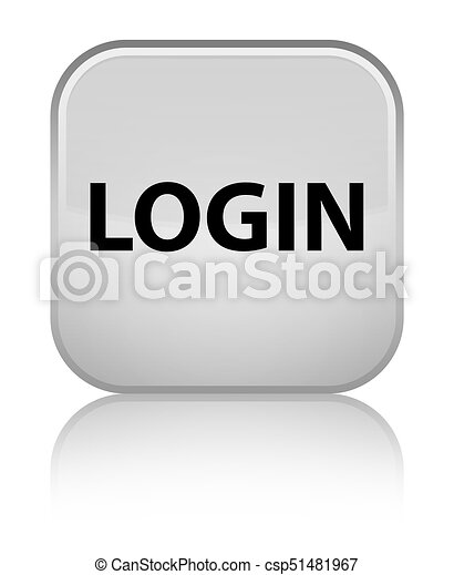 Login special white square button - csp51481967